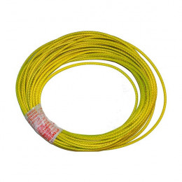 Yellow cable for bonding...