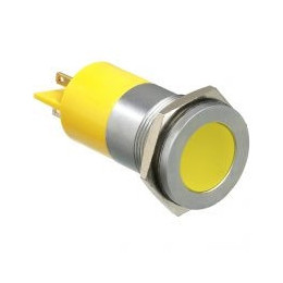 LED yellow light Ø22mm...