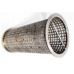 1000µ 6'' strainer basket