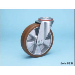 Swivel wheel Ø82 pe l30mm...