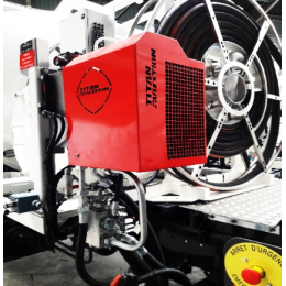 Hydraulic oil cooler 190LPM