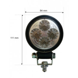 LED projector 10-30vdc 1000...
