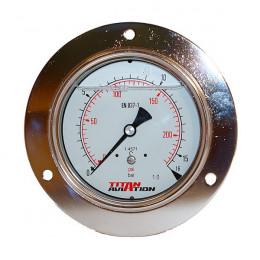 Ø100 pressure gauge with...