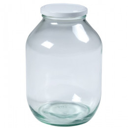 Glass sample jar 2,3l...
