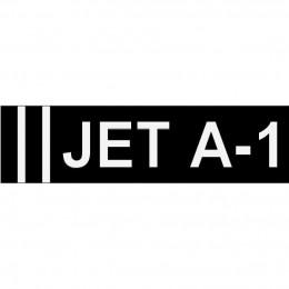 Jet A-1 Sticker 280 x 75mm