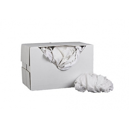 White cotton sheeting rags...