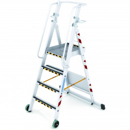Refuelling step ladder...