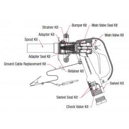 Swivel seal kit for EMCO...