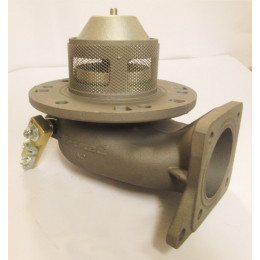 Mecanic 3'' foot valve